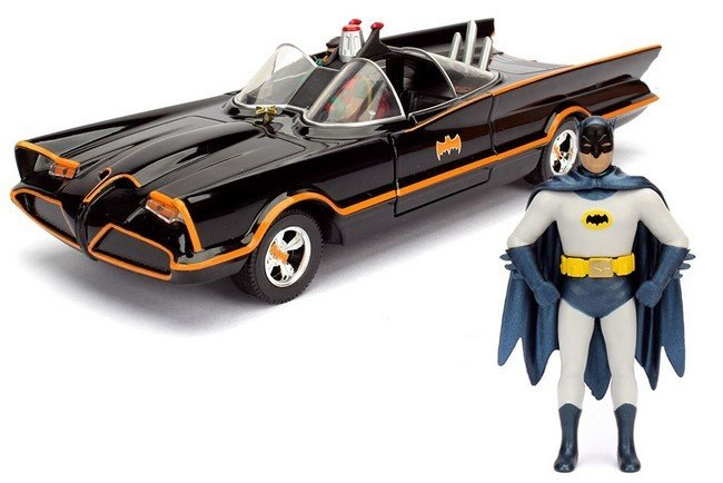 Batman - Batmobile met figuren