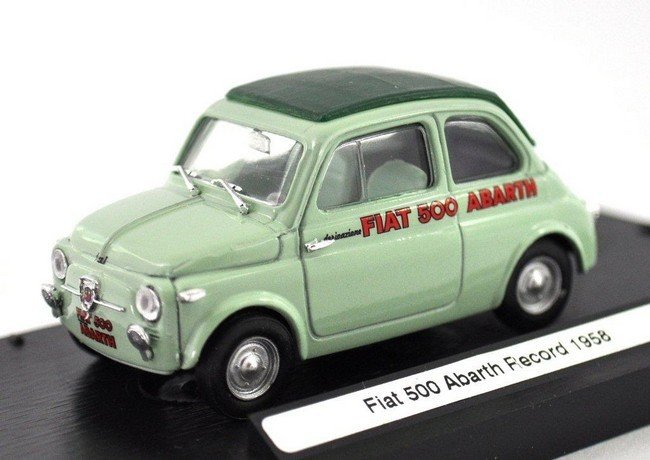 Fiat 500 Abarth record
