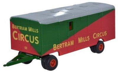 Showmans Trailer Bertram Mills Circus
