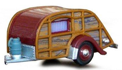 Caravan hout