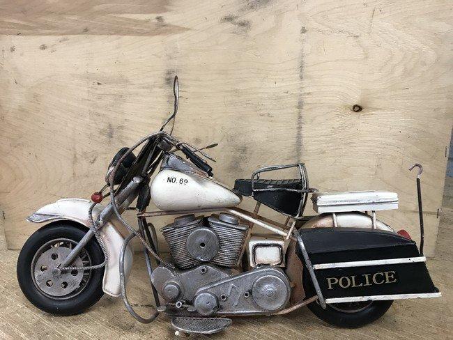 Politie motorfiets
