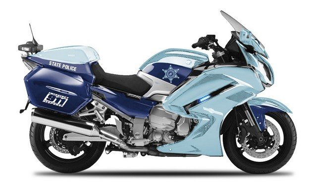 Yamaha FJR 1300A 'State Police' Authority