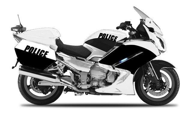 Yamaha FJR 1300A Generic Police authority