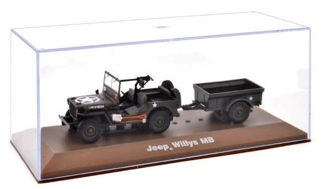 Willy Jeep MB met aanhanger