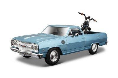 Chevrolet El Camino  met  Harley Davidson