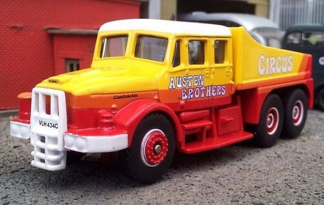 Scammell Contractor Austen Brothers Circus