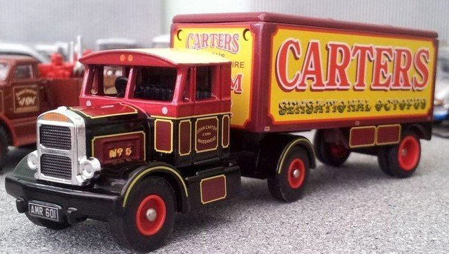 Scammell Contractor & Trailer