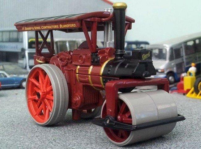 Burrell Road Roller - F. Sharp & Sons