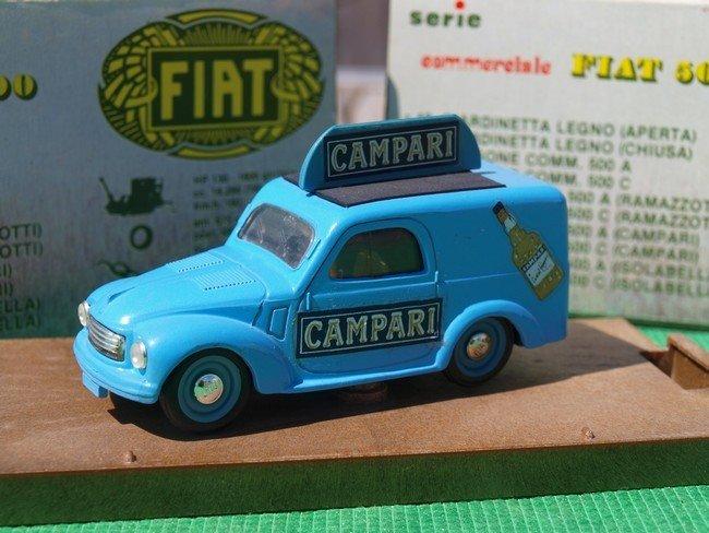 Fiat 500 Furgoncino Campari