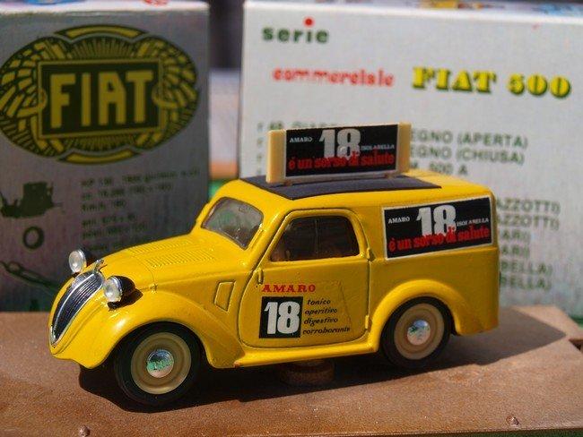 Fiat 500 Furgoncino isolabella A