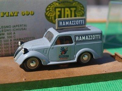 Fiat 500 Furgoncino Ramazzotti