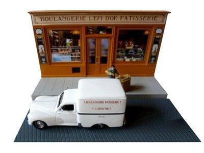 Peugeot 203  - diorama