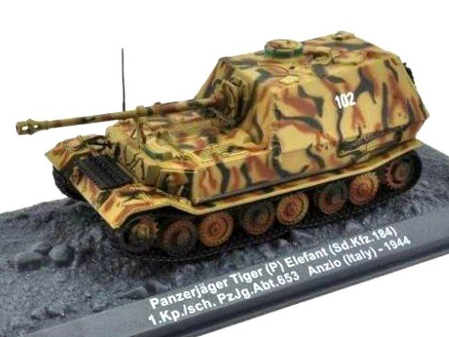 Panzerjager Tiger (P) Elefant