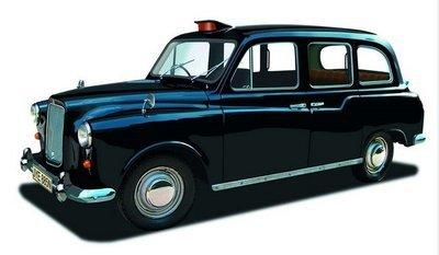 James Bond  -  Austin FX4 taxi - Octopussy