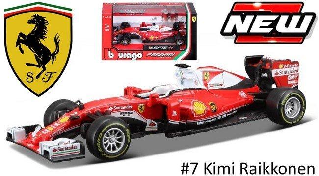 Ferrari SF16-H F1 #7 Kimi Raikkonen 2016