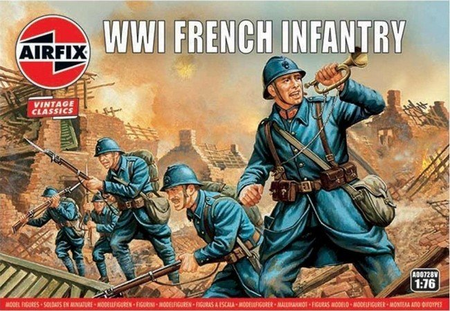 WW I French Infantry