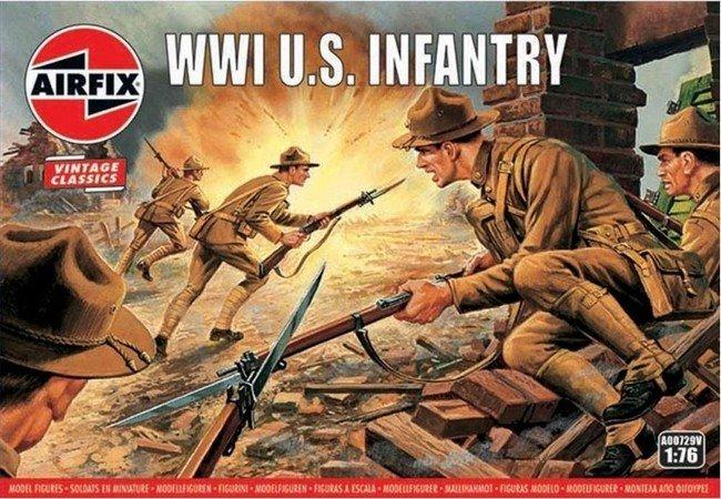 WW I U.S. Infantry