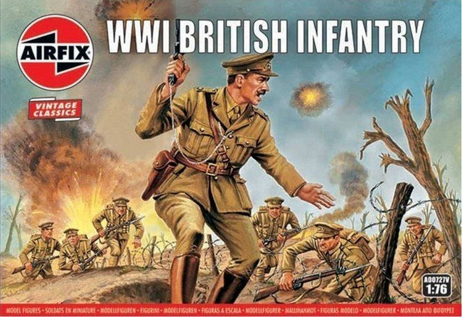 WW I British Infantry