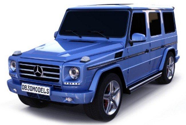 Mercedes Benz G Class Pull-back