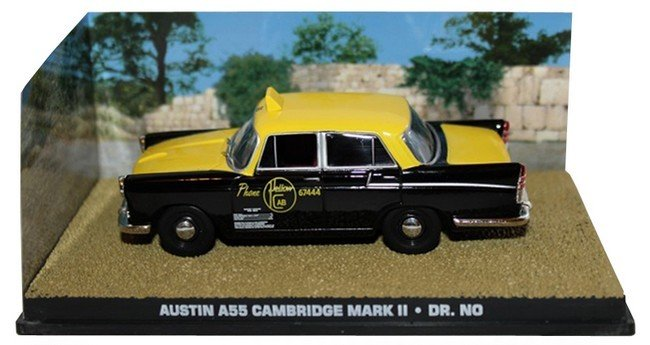 James Bond  -  Austin A55 Cambridge Mark II