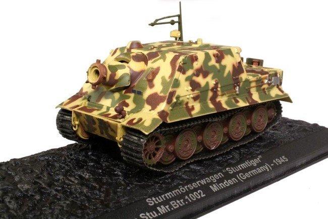 Sturmtiger PZ. Sturmmorserwagen Stu Mr. Btr 1002