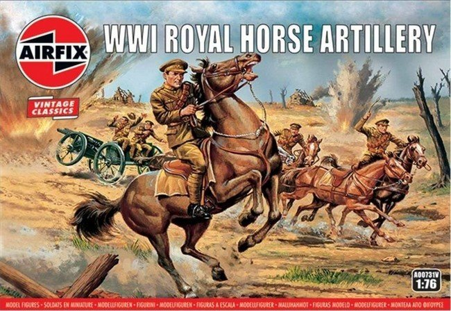 WW I Royal Horse Artillery