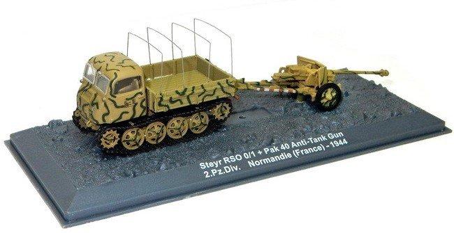 Steyr RSO/01 + Pak 40 Anti-Tank Gun