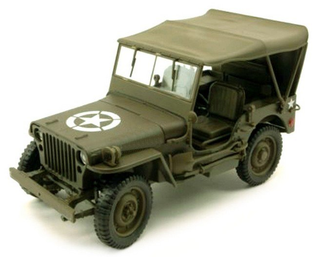 Willy Jeep 4x4 soft top