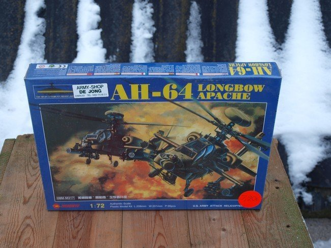 AH-64 (Modelbouw)