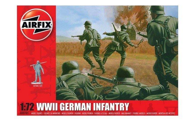 WW II German Infantry