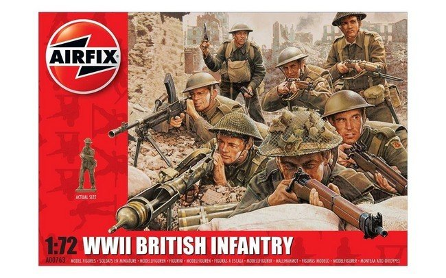 WW II British Infantry