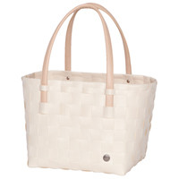 Shopper Color Block Ecru white