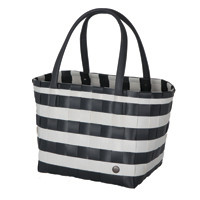 Shopper Color Block dark grey white