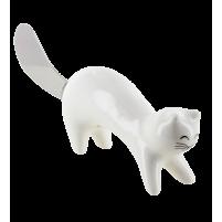 Botermes witte kat