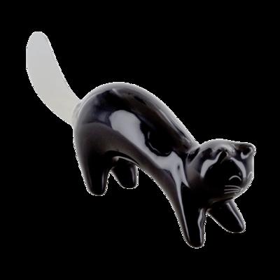 Botermes zwart kat
