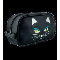 Toilettas kat zwart