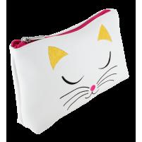 Trousse witte kat