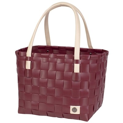 Shopper Color Block burgundy