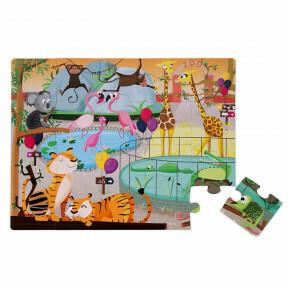 Puzzel dierentuin