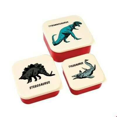 Set van 3 doosjes Dino