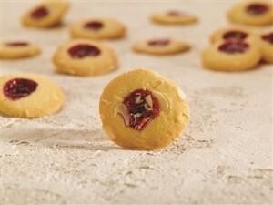 Rode bessen koekje