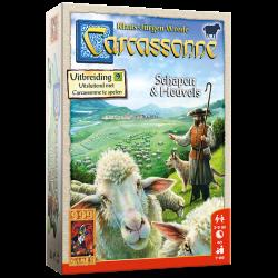 Carcassonne Schapen en heuvels