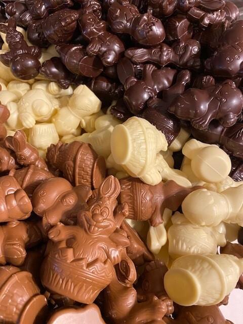 Lactose vrije melk chocolade Pasen