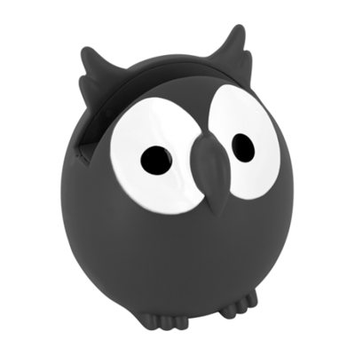 Brilhouder uil zwart