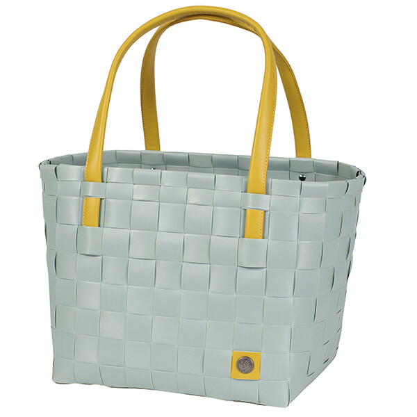 Shopper Color Block greyisch greeen