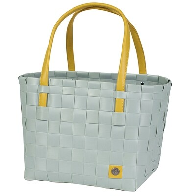 Shopper Color Block greyisch green