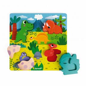 Dino puzzel