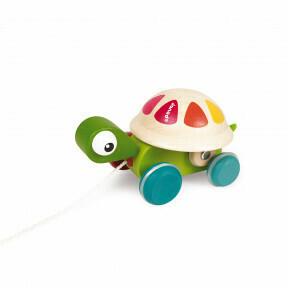 Pull along schildpad