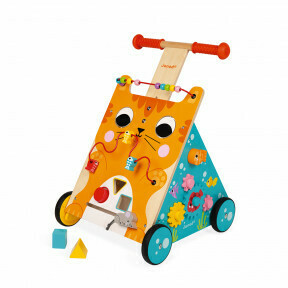 Baby walker met activity