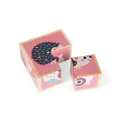 Puzzel blokken egel en co